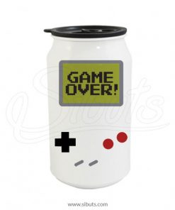 Termo lata blanca Game Boy