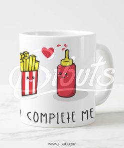 Taza regalo you complete me