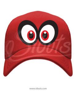 Gorra Roja Cappy Mario Bros