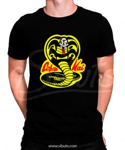 Playera hombre serie Cobra Kai Karate Kid