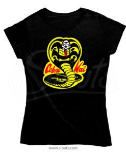 Playera mujer serie Cobra Kai Karate Kid