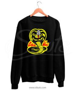 Sudadera cuello redondo Hombre serie Cobra Kai Karate Kid