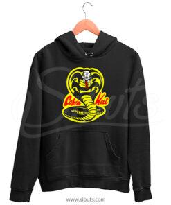 Sudadera capucha y cangurera Hombre serie Cobra Kai Karate Kid