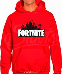 Sudadera gorro hombre gamer Fortnite