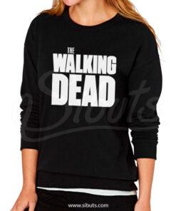 Sudadera cuello redondo mujer the walking dead