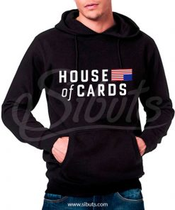 Sudadera gorro hombre House of cards Underwood