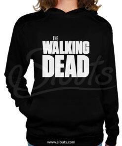 Sudadera gorro mujer the walking dead