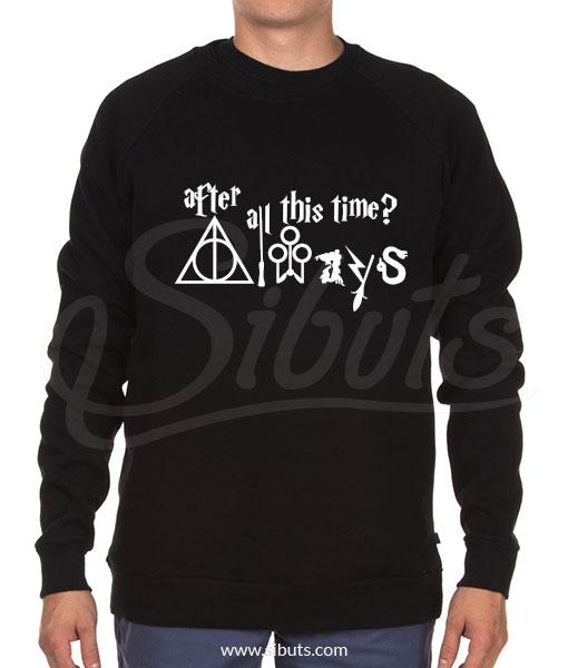 Sudadera cuello redondo hombre Harry Potter