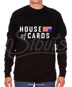 Sudadera cuello redondo hombre House of cards Underwood