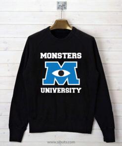 Sudadera cuello redondo mujer Monsters University
