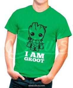 Playera hombre I am Groot