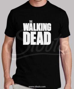 Playera hombre walking dead