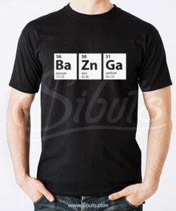 Playera hombre Bazinga Big Bang Theory