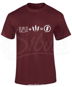 Playera hombre Flash Big Bang Theory