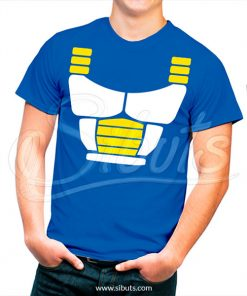 Playera hombre Vegeta dragon ball