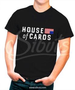 Playera hombre House of Cards