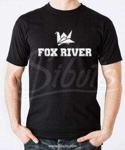 Playera hombre Prison Break Fox River