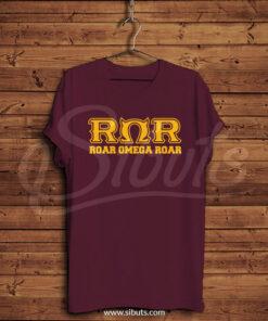 Playera hombre Roar Omega Roar
