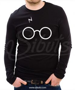 Playera manga larga hombre harry potter