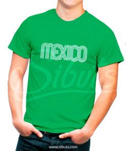 Playera hombre México 68
