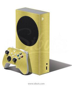 Skin Xbox Series S Oro cepillado Gold