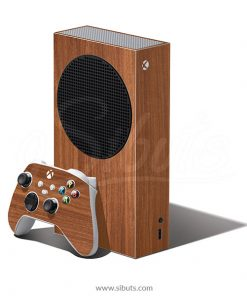 Skin Xbox Series S Textura Madera