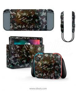 Skin Nintendo Switch Camuflage