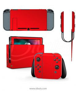 Skin Nintendo Switch rojo