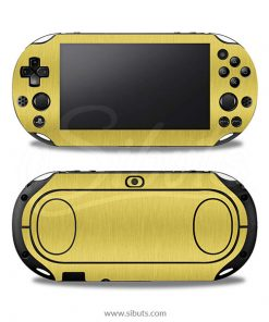 Skin Ps Vita Fat Cepillado Oro