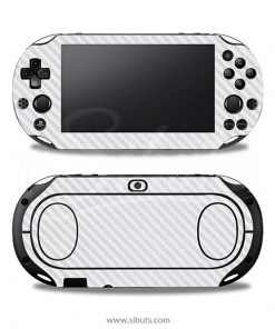 Skin Ps Vita Fat Fibra Carbono Blanco