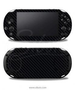 Skin Ps Vita Fat Fibra Carbono Negro