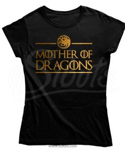 Playera mujer game of thrones mother of dragons