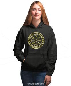 sudadera con gorro hoodie mujer serie vikingos vikings