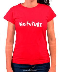 Playera mujer serie Dark no future