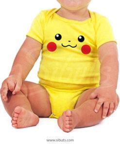 Pañalero amarillo bebé pikachu pokemon